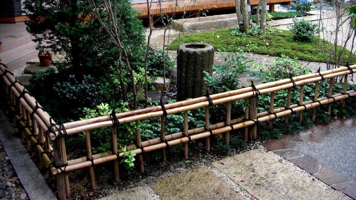 昭和造園の洋風庭園