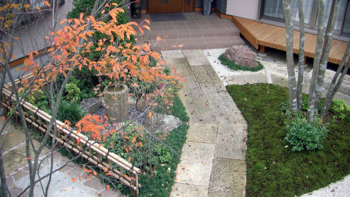 昭和造園の和風庭園
